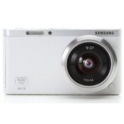 Samsung NX Mini Smart Camera with 9-27mm Lens (White) + SD Card -Fedex