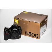 Nikon D800 36.3 MP Digital SLR Camera (Body Only) and Packaging